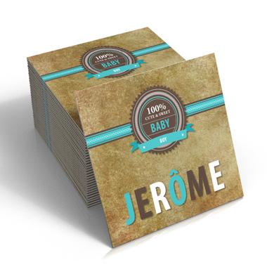 Geboortekaartje Jerome
